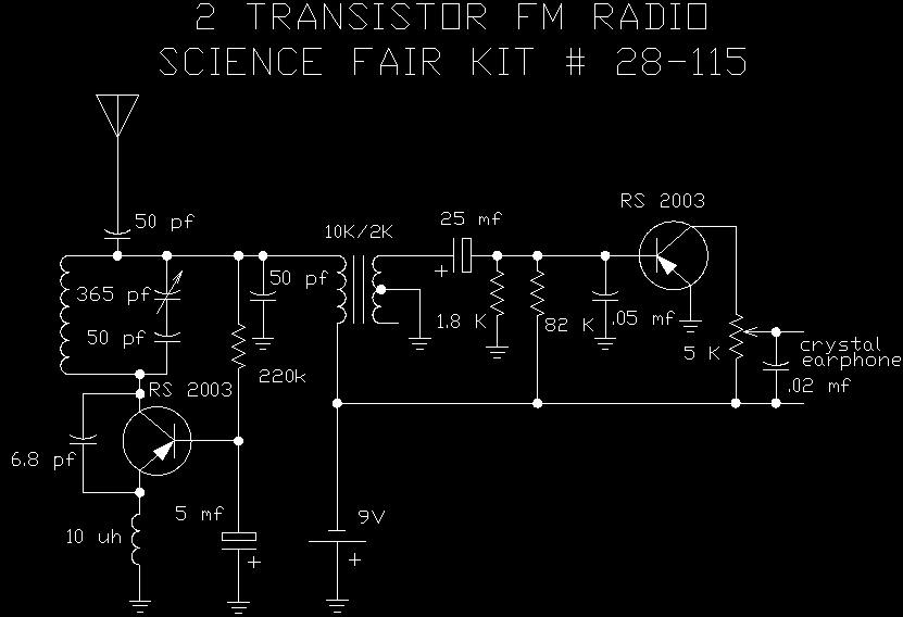 Radio Shack Sch on Fm Radio Receiver Circuit Diagram