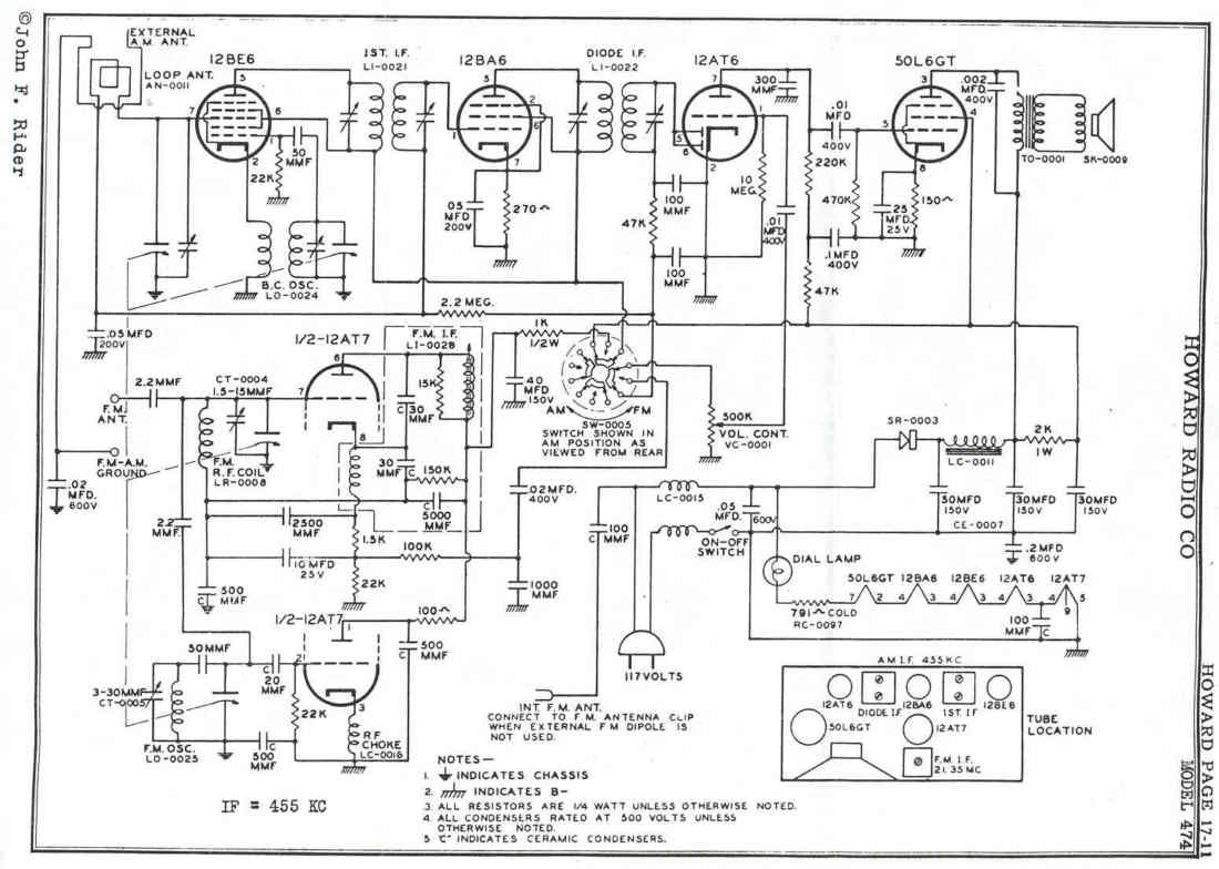 Fm Only Low Tech Radios Detector Schematic Circuit Diagram Audio Amplifier Circuits Howard474 Schem2 95068 Bytes Click This Image To See A